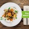"""Основное блюдо «Рагу из мяса птицы» (pamatēdiens """"Ragū no putna gaļas"""" )"""